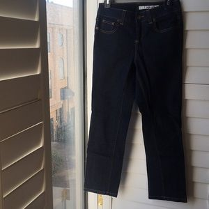 Dark Blue denim DKNY stretch jeans